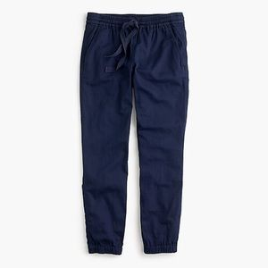 J.crew Point Sur Seaside Pants In Cotton Twill